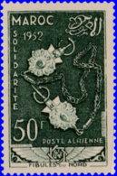 Maroc Aérien 1953. ~  A 93* - Solidarité Franco-Marocaine - Maroc (1891-1956)