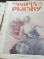 PARIS PLAISIRS/EDMONDE GUY/FOLIES BERGERES/CONCERT MAYOL /GEORGET /FELICIEN CHAMPSAUR /LE PALACE - Libri, Riviste, Fumetti