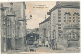 VILLEDOMMANGE - Rue Principale Et La Mairie - Altri Comuni