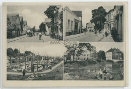 221 WEDEL-SCHULAU - Ansichtskarte 1952 Gelaufen. - Pinneberg