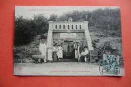 CPA 46 LOT LACAPELLE MARIVAL. Source Du Bois Bordet. - Lacapelle Marival