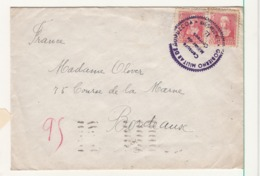 Espagne     Enveloppe  1939  Vers La France  Censure San Sebastian - Republicans Censor Marks