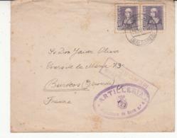 Espagne     Enveloppe  1939  Vers La France  Censure - Republikeinse Censuur