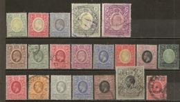 Eats Africa & Uganda Protectorate 1903/1912 Nice Range With High Value Items (incl 1R & 2R) - Kenya, Uganda & Tanganyika