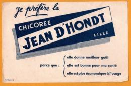 BUVARD - BLOTTING PAPER - Chicorée JEAN D'HONT - Lille - Imp. PUYBELLE - Café & Thé