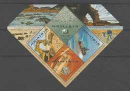 Namibia 2008 Centenary Of The Discovery Of Diamonds In Namibia S/S Y.T. BF 72 ** - Namibië (1990- ...)
