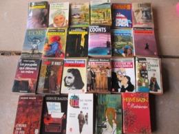 LOT DE 23 LIVRES COLLECTION LIVRE DE POCHE - Boeken, Tijdschriften, Stripverhalen