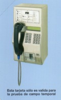 URMET PATENT - CUBA - TELEPHONE - TEST CARD - MINT - Cuba