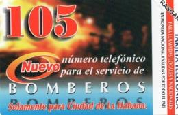 URMET PATENT - CUBA - BOMBEROS - MINT - Cuba