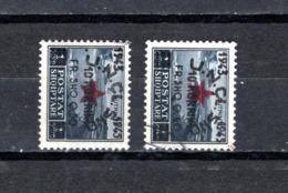 Albania   1945 .-  Y&T Nº    319/320 - Albanie