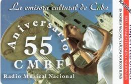 URMET PATENT - CUBA - CMBF RADIO - MINT - Cuba