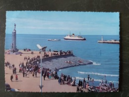 Ostende La Digue Et Le Monument Aus Gens De Mer +malle Ostende Douvre - Oostende