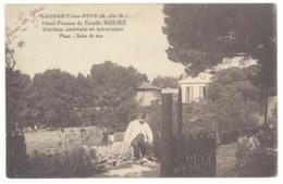 Cpa Sausset Les Pins - Hôtel Pension De Famille Rouré ... - Autres Communes