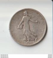 1 Franc Semeuse Argent 1904 - Frankreich