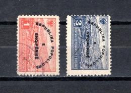 Albania   1946 .-  Y&T Nº    335 M-335 N - Albanie