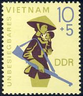 1371 Unbesiegbares Vietnam 10+5 Pf ** - DDR