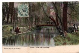Juvisy 1905 - Une Vue Sur L'Orge - Collec Bédu, Café Des Deux Gares - Juvisy-sur-Orge