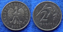 POLAND - 2 Grosze 2004 MW Y# 277 Monetary Reform (1995) - Edelweiss Coins - Polonia