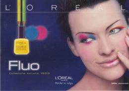 """PUBBLICITA' ADVERTISING CARTOLINA CITRUS N°285 - """"L'OREAL"""" - Advertising"""