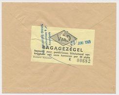 Locaal Te Amersfoort 1969 - VAD Bagagezegel Voor Persbrieven - Period 1949-1980 (Juliana)