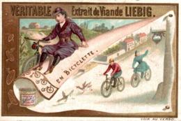 LIEBIG  EN BICYCLETTE - Liebig