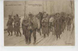 """GUERRE 1914-18 - L'hiver Sur L'Yser - Convoi De Prisonniers - D'après """"The Sphere """" - Guerre 1914-18"""