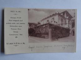 Nice - Hôtel - Logis Marie Jacques - Avenue Monplaisir - Cafés, Hotels, Restaurants