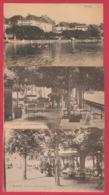 Boitsfort -Café-Restaurant De La Belle-Vue Et De L'Etang - 3 Cartes Postales ... Vue Générale Et Terrasse ( Voir Verso ) - Watermael-Boitsfort - Watermaal-Bosvoorde