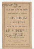 Feuille De Tickets De Pain Juin 1940 Complet. - Documents Historiques