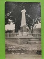 Semuy, Inauguration Du Monument. Le 23 Mai 1926 - Autres Communes