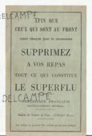 Feuille De Tickets De Pain Juillet 19.. Complet. - Documents Historiques