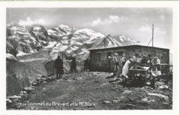 1010. Sommet Du Brévent Et Le Mt. Blanc - Francia