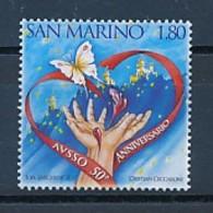 SAN MARINO Mi. Nr. 2421 50 Jahre Vereinigung Der Freiwilligen Blut- Und Organspender - MNH - San Marino