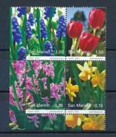 SAN MARINO Mi. Nr. 2425-2428 Frühlingsblumen - MNH - San Marino