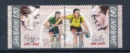 SAN MARINO Mi. Nr. 2435-2436 Radsport: 50. Todestag Von Fausto Coppi, 10. Todestag Von Gino Bartali - MNH - San Marino