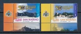 SAN MARINO Mi. Nr. 2443-2444 50 Jahre Lions-Club Von San Marino - MNH - San Marino