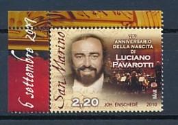 SAN MARINO Mi. Nr. 2456 75. Geburtstag Von Luciano Pavarotti - MNH - San Marino