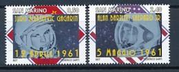 SAN MARINO Mi. Nr. 2474-2475 50 Jahre Bemannte Weltraumfahrt - MNH - San Marino