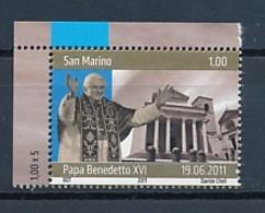SAN MARINO Mi. Nr. 2492 Besuch Von Papst Benedikt XVI. In San Marino - MNH - San Marino