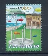SAN MARINO Mi. Nr. 2504 100 Jahre Badeort Milano Marittima - MNH - San Marino