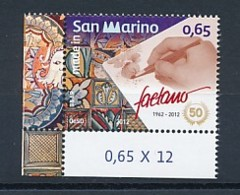 SAN MARINO Mi. Nr. 2512 Made In San Marino : 50 Jahre Keramikfabrik Faetano - MNH - San Marino