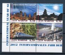 SAN MARINO Mi. Nr. 2514-2517 Internationales Jahr Der Nachhaltigen Energie Für Alle - MNH - San Marino