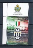 SAN MARINO Mi. Nr. 2522 Juventus Turin - Italienischer Fußballmeister 2011/2012 - MNH - San Marino