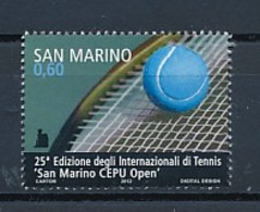 SAN MARINO Mi. Nr. 2523 25. Internationales Tennisturnier -San Marino CEPU Open - MNH - San Marino