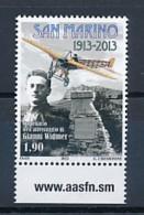 SAN MARINO Mi. Nr. 2553 100. Jahrestag Der Landung Von Gianni Widmer - MNH - San Marino