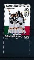 SAN MARINO Mi. Nr. 2560 Juventus Turin - Italienischer Fußballmeister 2012/2013 - MNH - San Marino