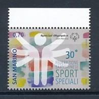 SAN MARINO Mi. Nr. 2581 30 Jahre Nationale Föderation Des Behindertensports. - MNH - San Marino