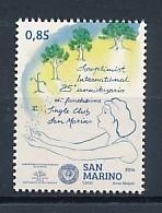 SAN MARINO Mi. Nr. 2583 25 Jahre Soroptimist International Single Club Von San Marino - MNH - San Marino