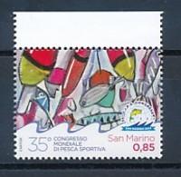 SAN MARINO Mi. Nr. 2584 35. Weltkongress Des Internationalen Verbandes Für Sportfischen  - MNH - San Marino