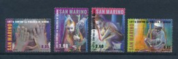 SAN MARINO Mi. Nr. 2589-2592 Kampf Gegen Gattungsgewalt - MNH - San Marino